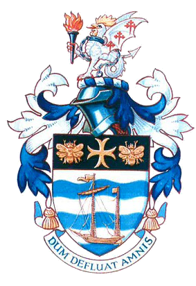 site logo Stourport town council coat of arms